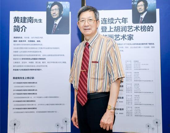 黄建南:亚洲首位做客美国著名访谈节目跻身世界名流的艺术家